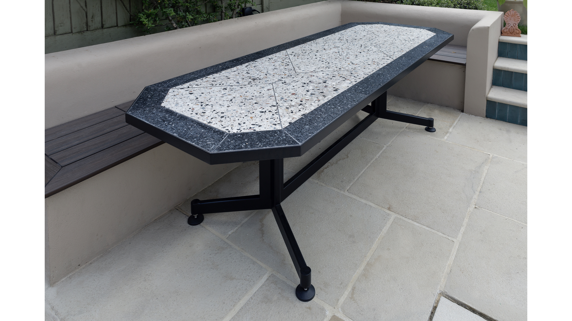 Terrazzo Outdoor Dining Table ii | © Bernardo Guillermo Studio