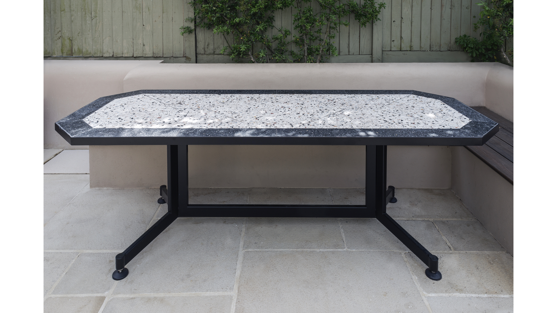 Terrazzo Outdoor Dining Table iii | © Bernardo Guillermo Studio